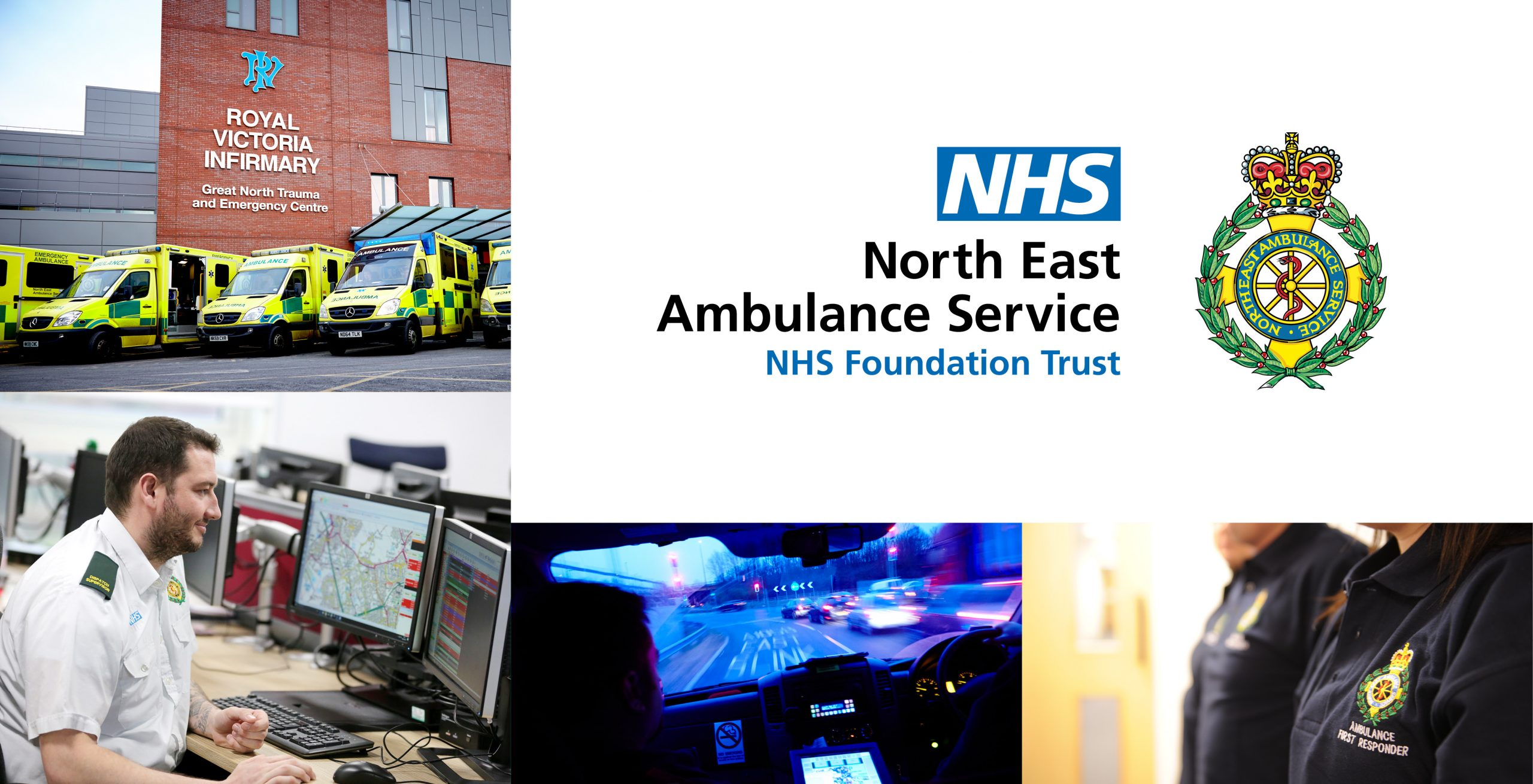 North East Ambulance Service Montage 1