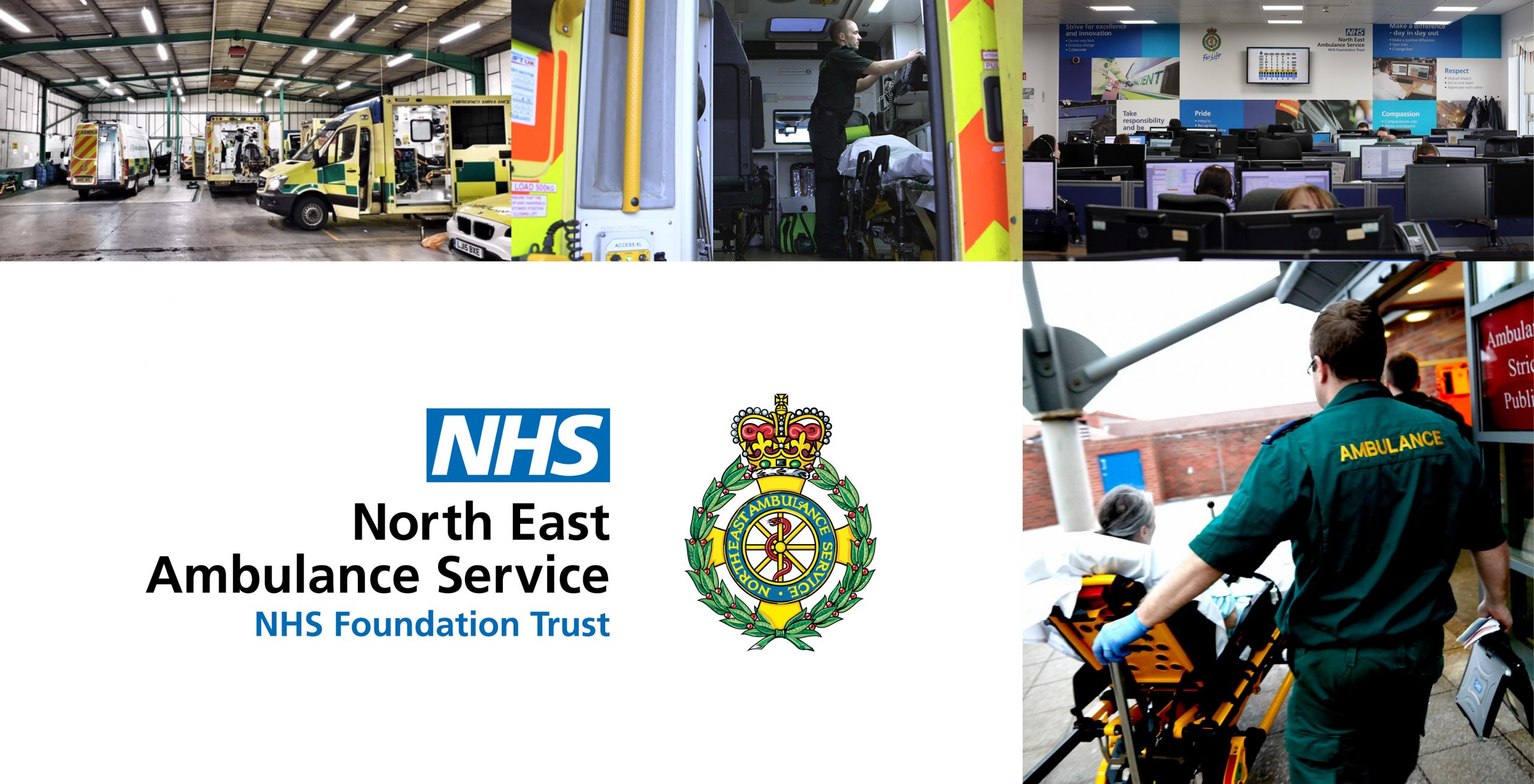 North East Ambulance Service Montage 2